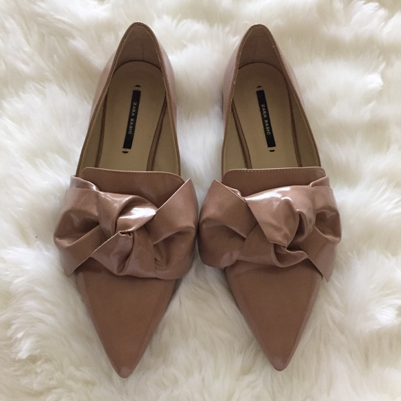 Zara Shoes - Zara pointy toe flats! Size 36